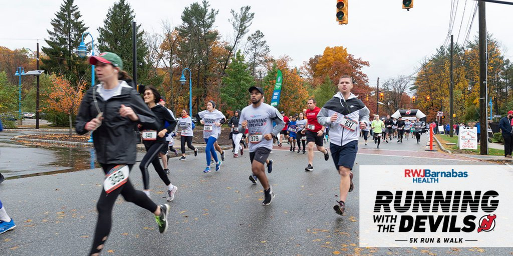 👟JOIN US!👟  Running with the Devils 5K Run and Walk is happening on November 2nd!  For more information, or to register, visit:   #RWTD5K #LetsBeHealthyTogether