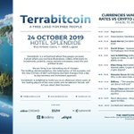 Image for the Tweet beginning: It's almost time for #Terrabitcoin!