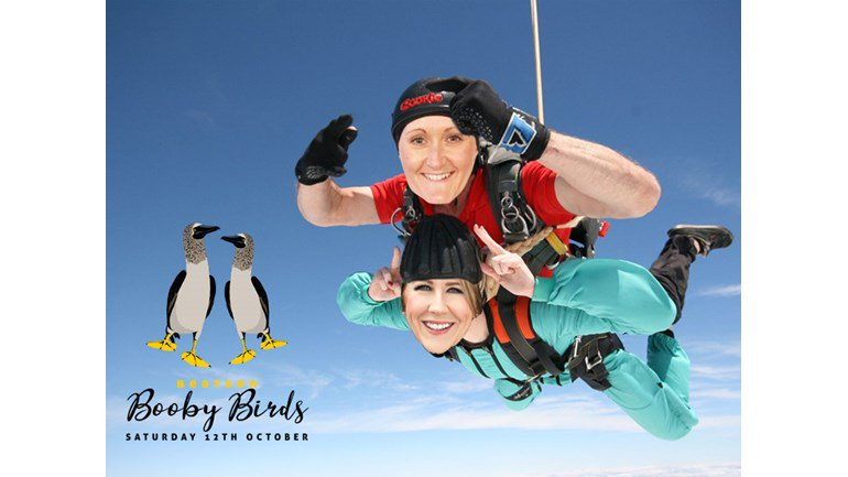 Tomorrow, our MD Jennifer is jumping out of a plane to raise money for @Beatson_Charity, we are all routing for her! Thank you to those who have donated, there is still time to donate on the link below:    #teambeatson #charityskydive #boobybirds #plsshare