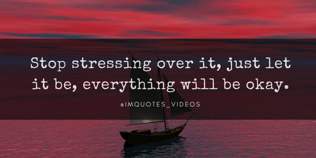 Don't let worry and stress get the best of you.  #FridayFeeling <br>http://pic.twitter.com/okIyObr0LW