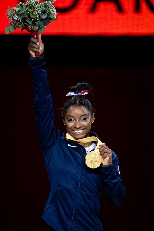 Simone Biles on Serena Williams, Showing Emotions, and Being Unafraid to Own Her Greatness