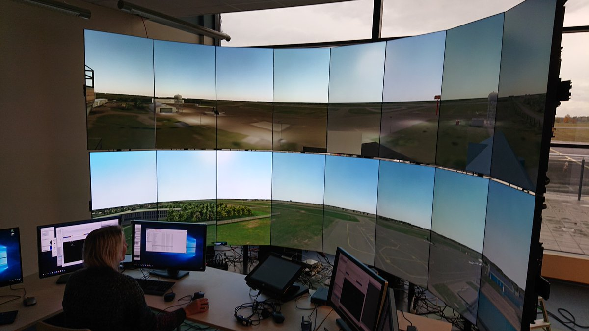 EANS continues to develop #remotetower centre in cooperation with Cybernetica. The first multiple remote tower simulations will be held for Tartu and Kuressaare aerodromes. The initial results will already be available at @WorldATM_now 2020. #madeinEstonia pic.twitter.com/BIunM8JeFY