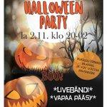 Image for the Tweet beginning: Salpassa tapahtuu myös marraskuussa. Halloween