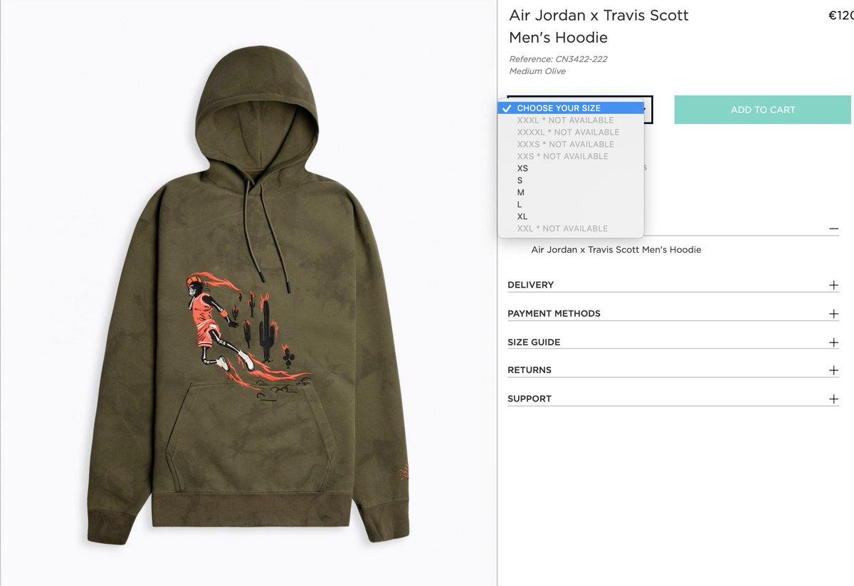nike x travis scott hoodie