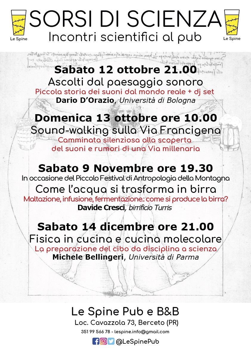 Suoni E Rumori In Cucina le spine (@lespinepub)   twitter