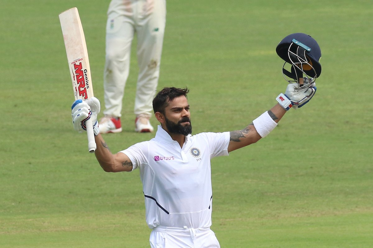 Congratulations @imVkohli bro on your stupendous innings and a record of 7 double centuries 🤜🏻🤛🏻