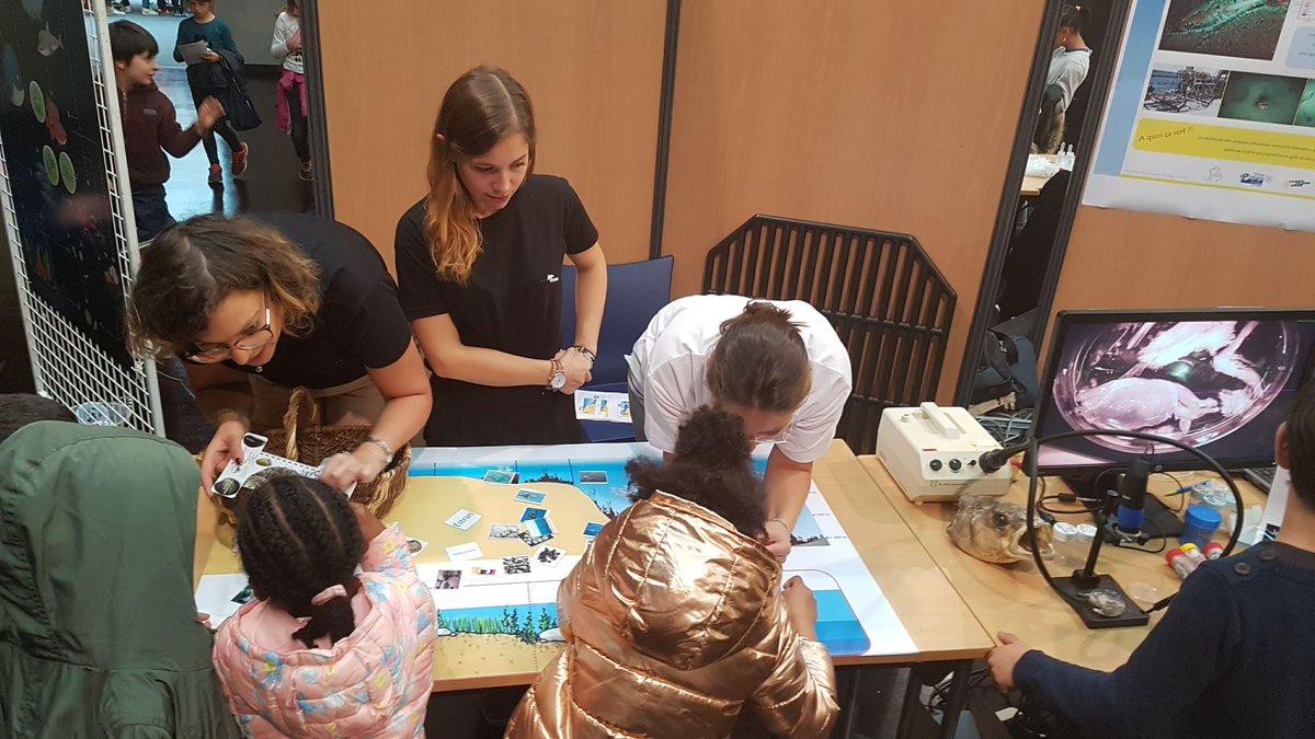 #FDS2019 | 👨🔬👩🔬🎉 La @FeteScience vous attend nombreux à #Brest les samedi 12 & dimanche 13 octobre, de 10h à 18h au @LeQuartz. ➕ dinfos sur : oceanopolis.com/la-fete-de-la-…