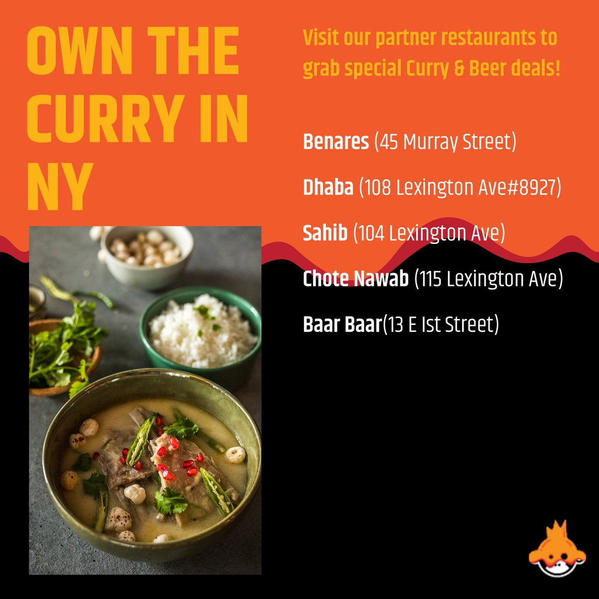 Let's celebrate culture, recipes & flavour, together! Head over to #Bira91 International Curry Week partner restaurants to enjoy lip-smacking curries, special deals on curry & beer!🥘 . . . #GotCurry #ICW2019 #InternationalCurryWeek #Bira91Beer https://t.co/mcbwWi3xoG