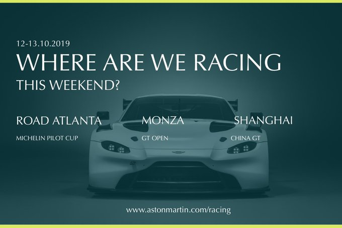 Another big racing weekend... later…