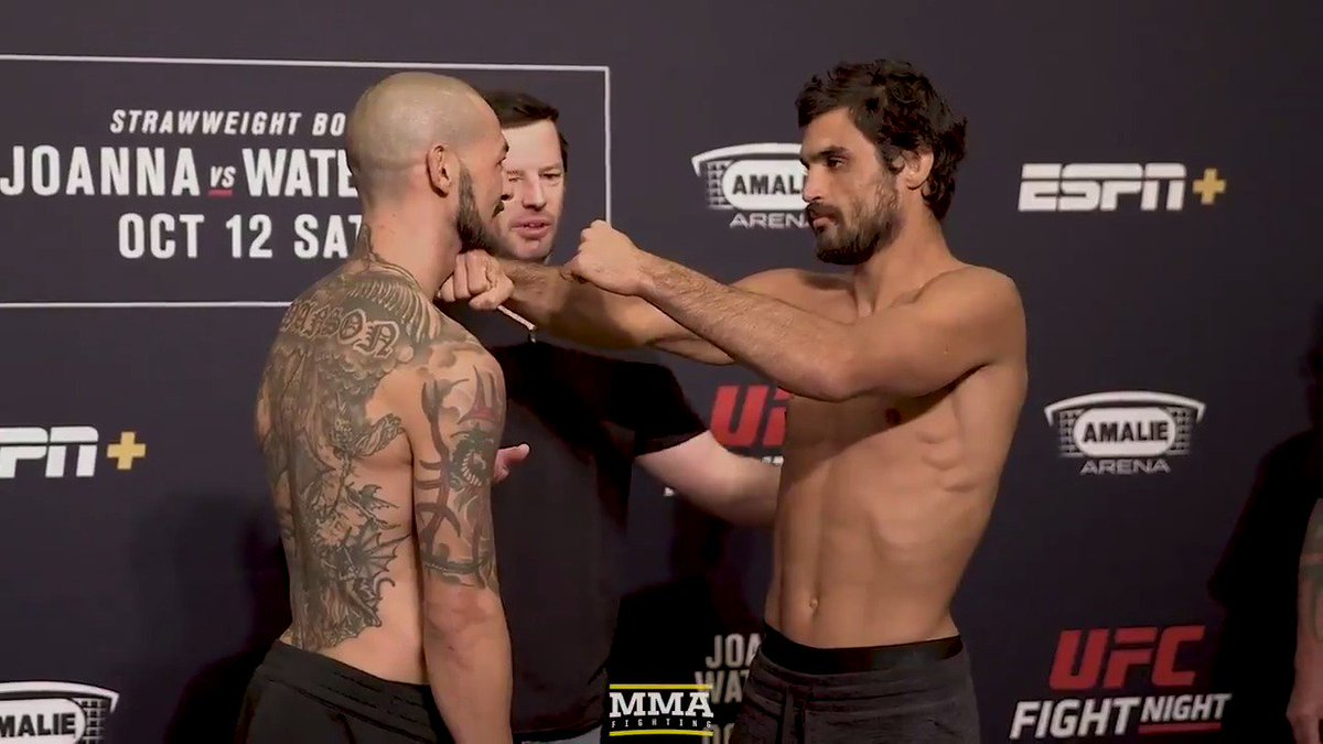 Cub Swanson and Kron Gracie are ready for battle tomorrow night at #UFCTampa. Will Kron keep his perfect record intact or will Cub play spoiler in Florida? 🤔 You tell us.