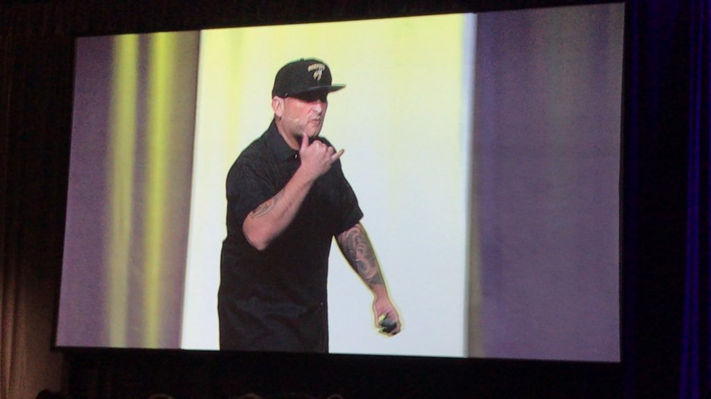 """That's what school is, coming to school to make a difference."" @brewerhm"