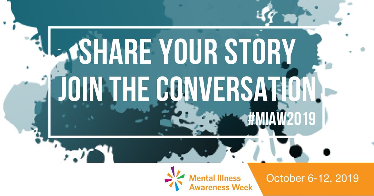 test Twitter Media - For Mental Illness Awareness Week, we want to know about your journey and road to recovery! Join the conversation and share your story to help end the stigma. #MIAW19 https://t.co/Hzr1SW2UKA