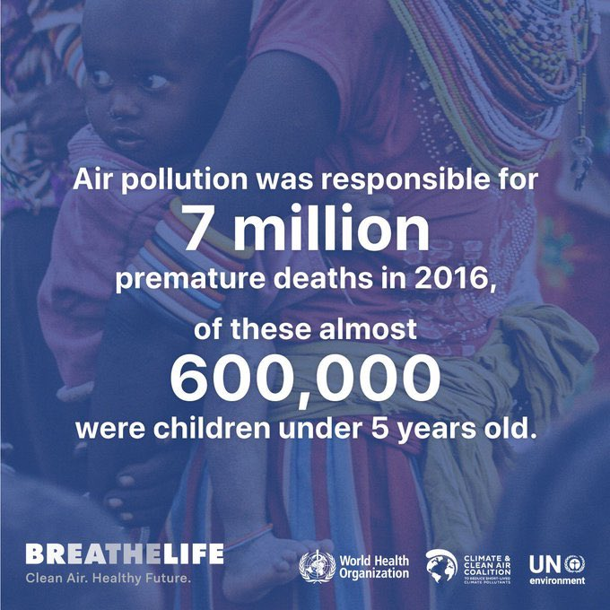 What a great way to start a day - with clean air! @WHO welcomes the commitment of 35 mayors to deliver clean air for the more than 140 million people that live in their cities. Check out the @c40cities declaration: bit.ly/2p7Yr9E #BreatheLife