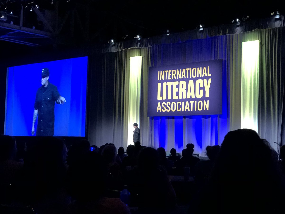 """Everyone of our children is an opportunity, not an obligation."" @brewerhm #ILA19"