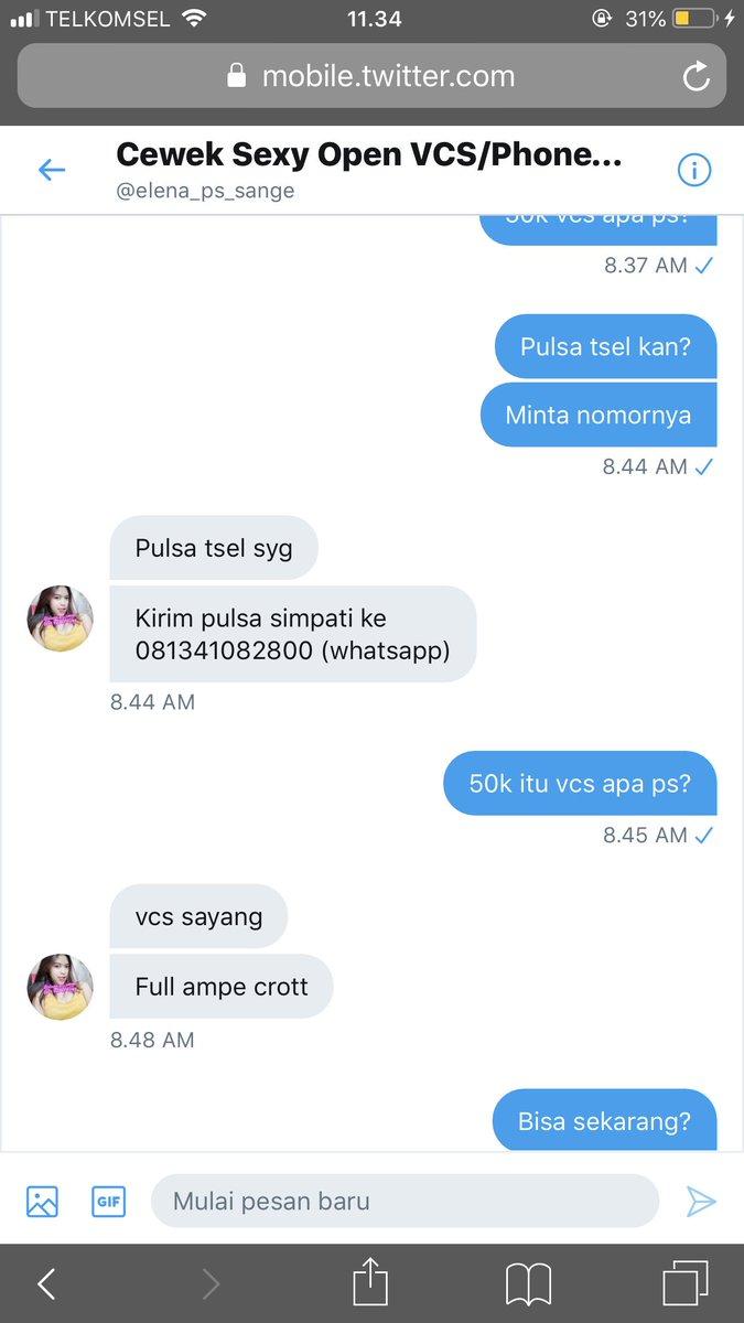Boboho317 On Twitter Udah Bayar Malah Kabur Penipuan Vcs