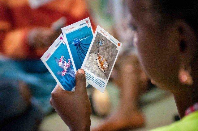#FFAO2019 | Découverte ludique des récifs coralliens et des enjeux de leur protection avec lanimation #Mareco le récif corallien entre nos mains conçu par l@ird_fr. - 👉 Tous les jours, jusquau 3 novembre à @Oceanopolis_ ➕ dinfos sur oceanopolis.com/festival-du-fi…