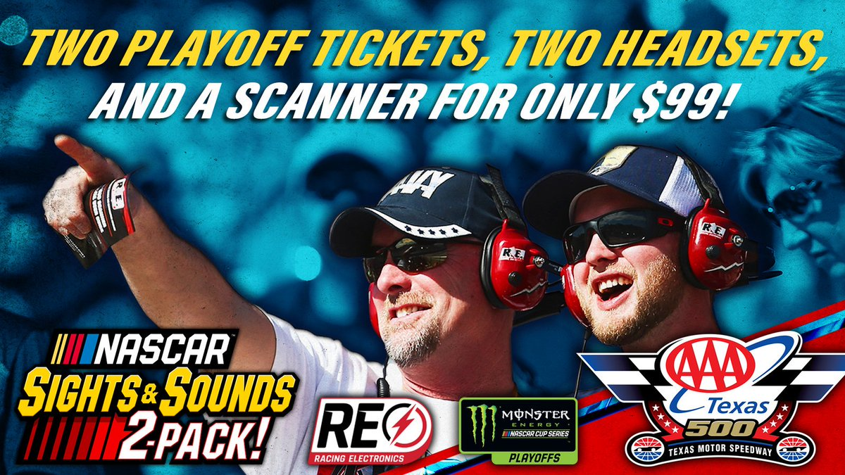 Yall, this deal for the #AAATexas500 wont last long. Act fast before theyre gone for good! 🎟️ » bit.ly/2B5f0Ws