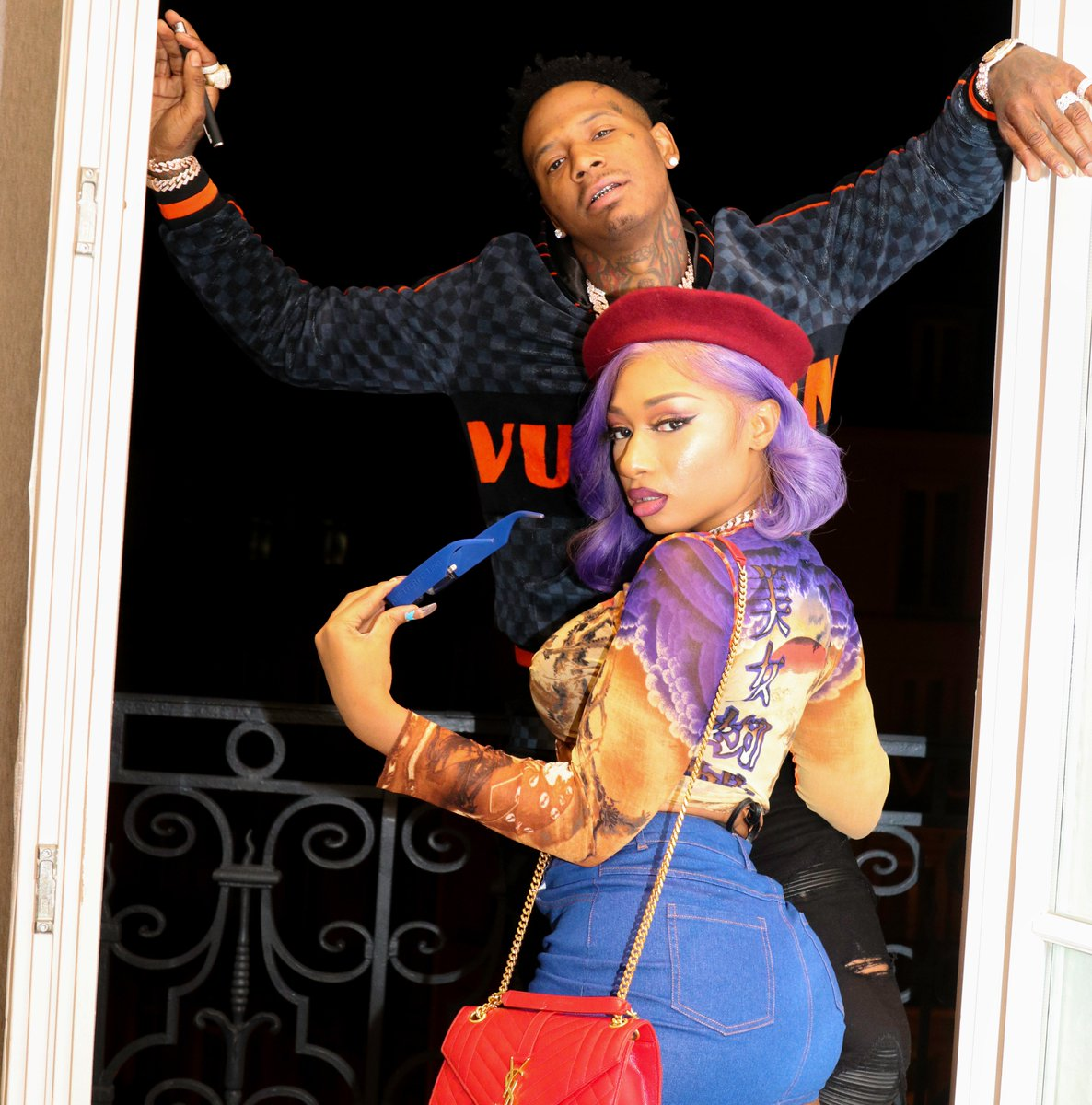 A true power couple 💕 Press play on @MoneyBaggYo and @theestallions #AllDat now spoti.fi/alldat