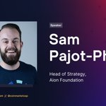 Image for the Tweet beginning: Sam Pajot-Phipps-Phipps, Head of Strategy