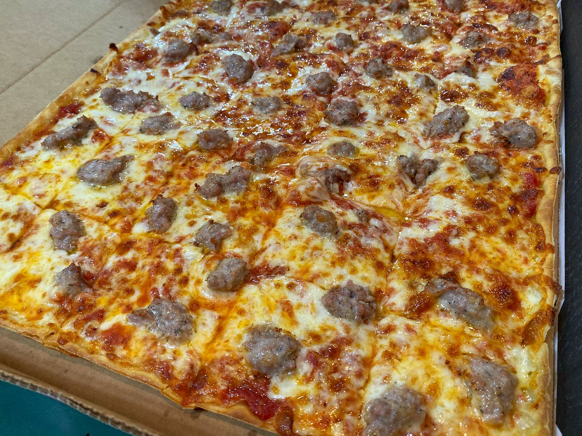 #NationalSausagePizzaDay GIVEAWAY   WE ARE GIVING AWAY (2)  $25 #LEDOPIZZA GIFT CARD!   RETWEET AND FOLLOW TO BE ENTERED TO WIN!  (2 winners picked randomly at 10pm on 10/11/19) #FridayFeeling <br>http://pic.twitter.com/2pFn9G6cRK