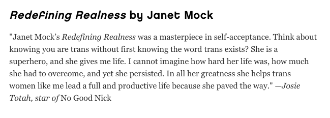 And here's @josietotah with an ode to @janetmock glamour.com/gallery/books-…