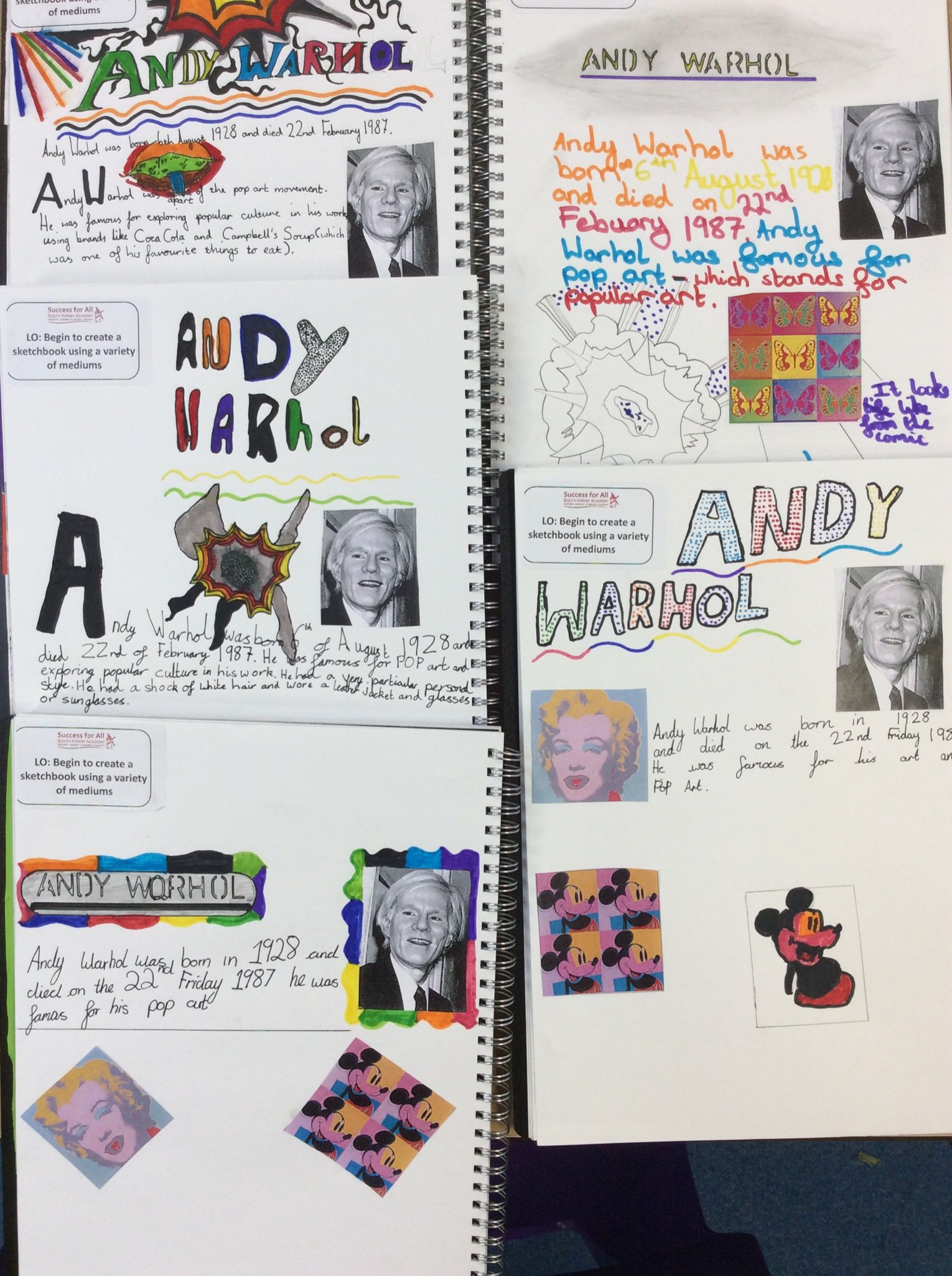 andy warhol research papers