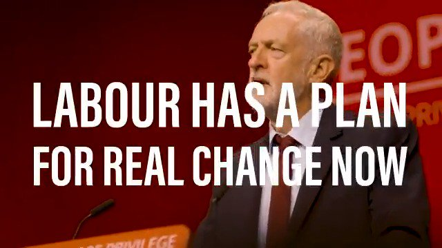 Our plan for real change 👇 ✅ £10 minimum wage for everyone 🚫 ban fracking ☀🌊 kickstart a Green Industrial Revolution 💊 free prescriptions and free personal care for older people 👩🎓 scrap tuition fees 🏠 make homes affordable RT if youre with us 🙌