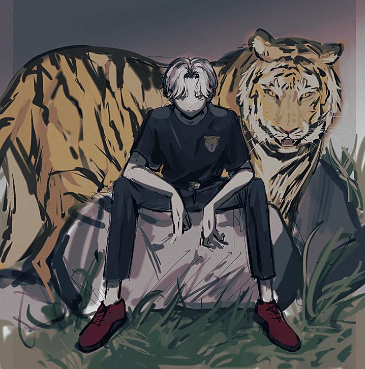 虎の飼育員