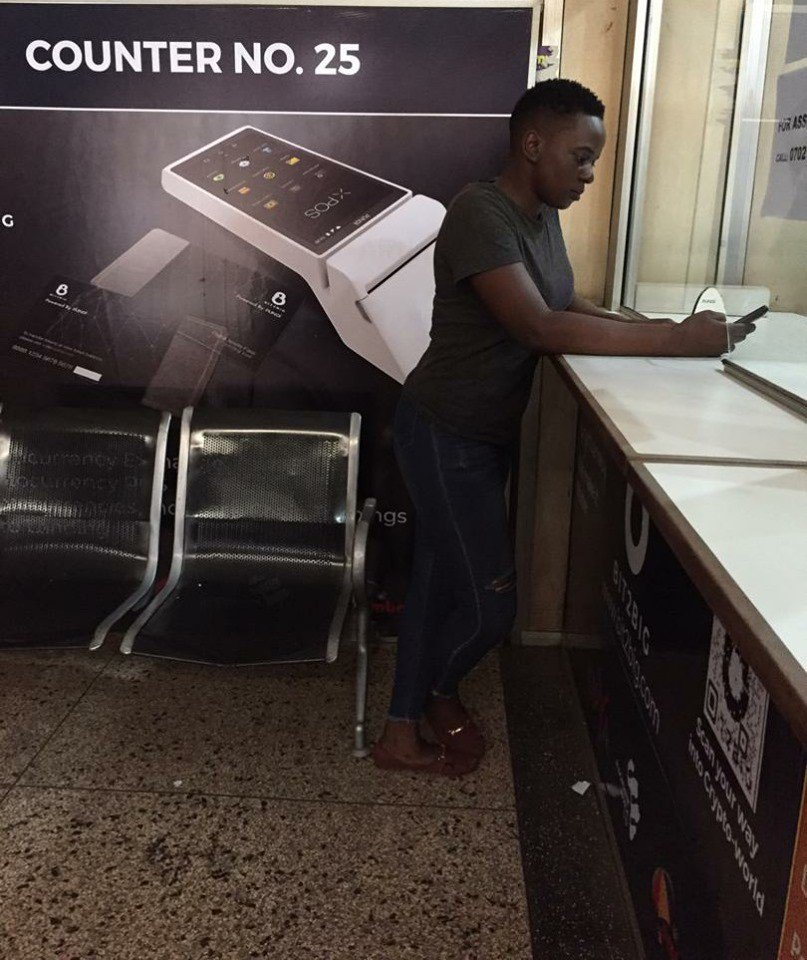 #crypto transaction made easy in Uganda Post Office 🇺🇬 . Find XPOS at the Counter 25 @Posta_Uganda to experience.