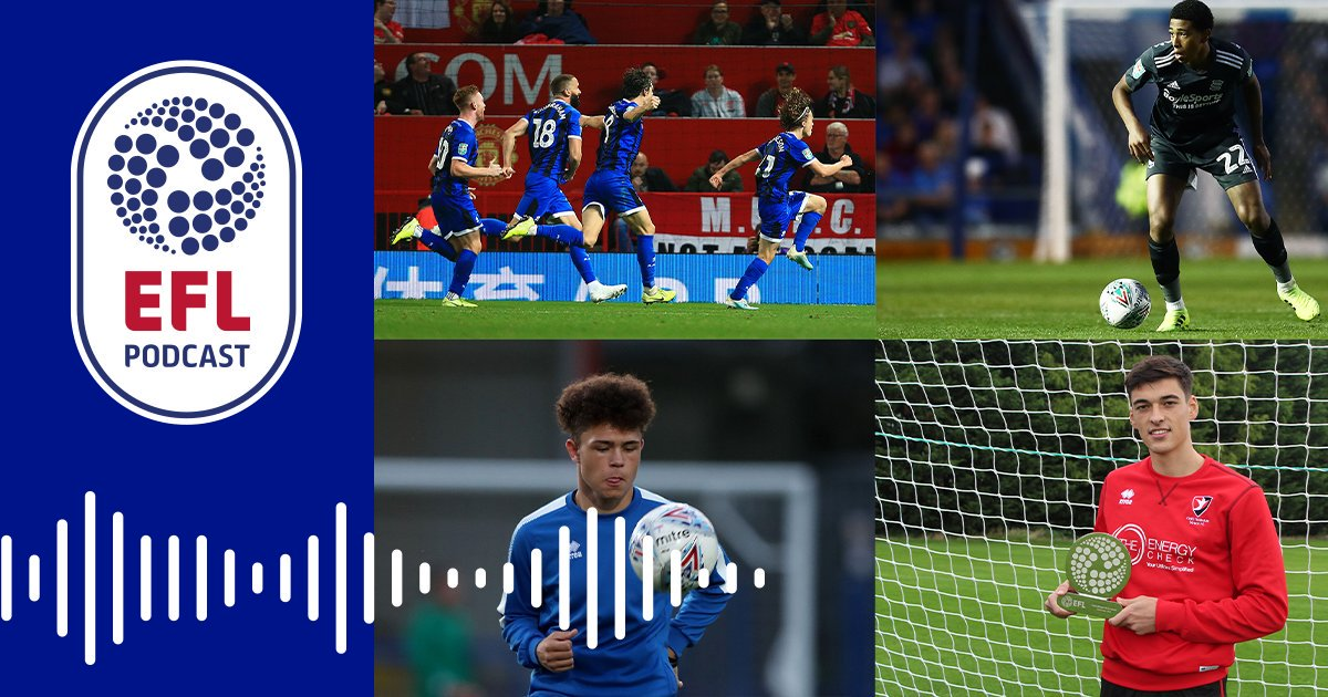 #OfficialEFLPodcast alert! With it being the international break, we celebrate the importance of youth development with @oficiallydale and their incredible academy! 📺 🎧 Watch and listen to a special edition of the show: po.st/PodYouthSpecial #EFL | #RAFC
