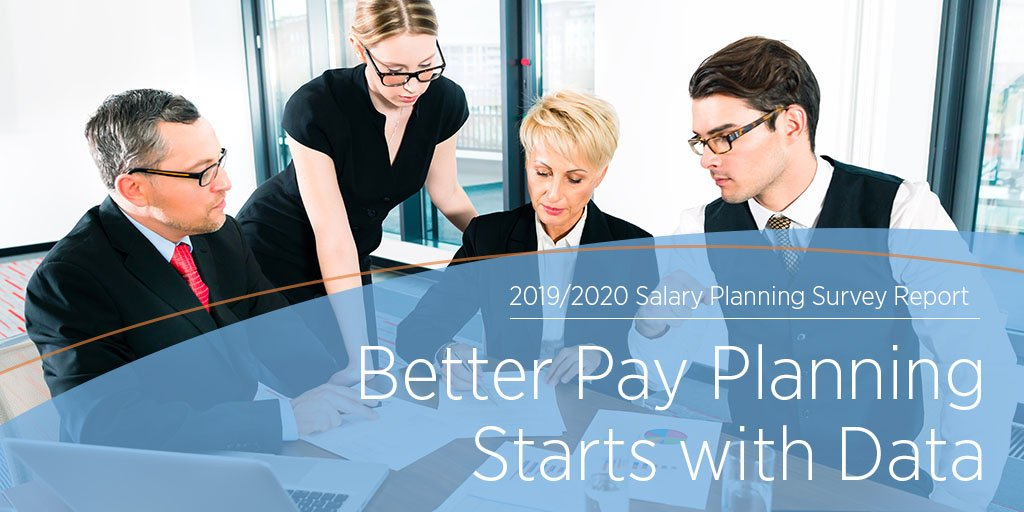 Our in-depth survey of 943 employers shows how pay structures are changing. Make fully informed decisions about sustainable compensation and benefit plans and programs that attract and retain top talent — preview here: bit.ly/2IGOBT5