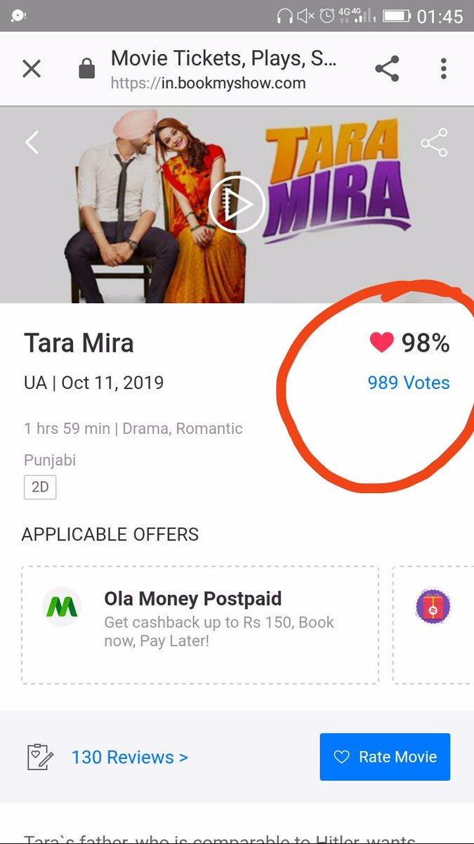 Voila! 😍 congratulations!!!! @GuruOfficial @BawaRanjit @751Films #TaraMira #gururandhawa
