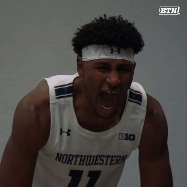 Shoes, jerseys, headbands...everything looking fresh for picture day. 😎📸 @NUMensBball, we ready for this season to start or what?