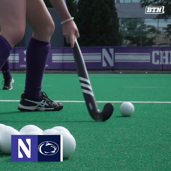 No. 8 @NUFHCats kicks off its East Coast road trip with a match at Penn State 🏑 Catch the match at 6 ET on BTN+ ($) ➡️ bit.ly/2p4mIgE