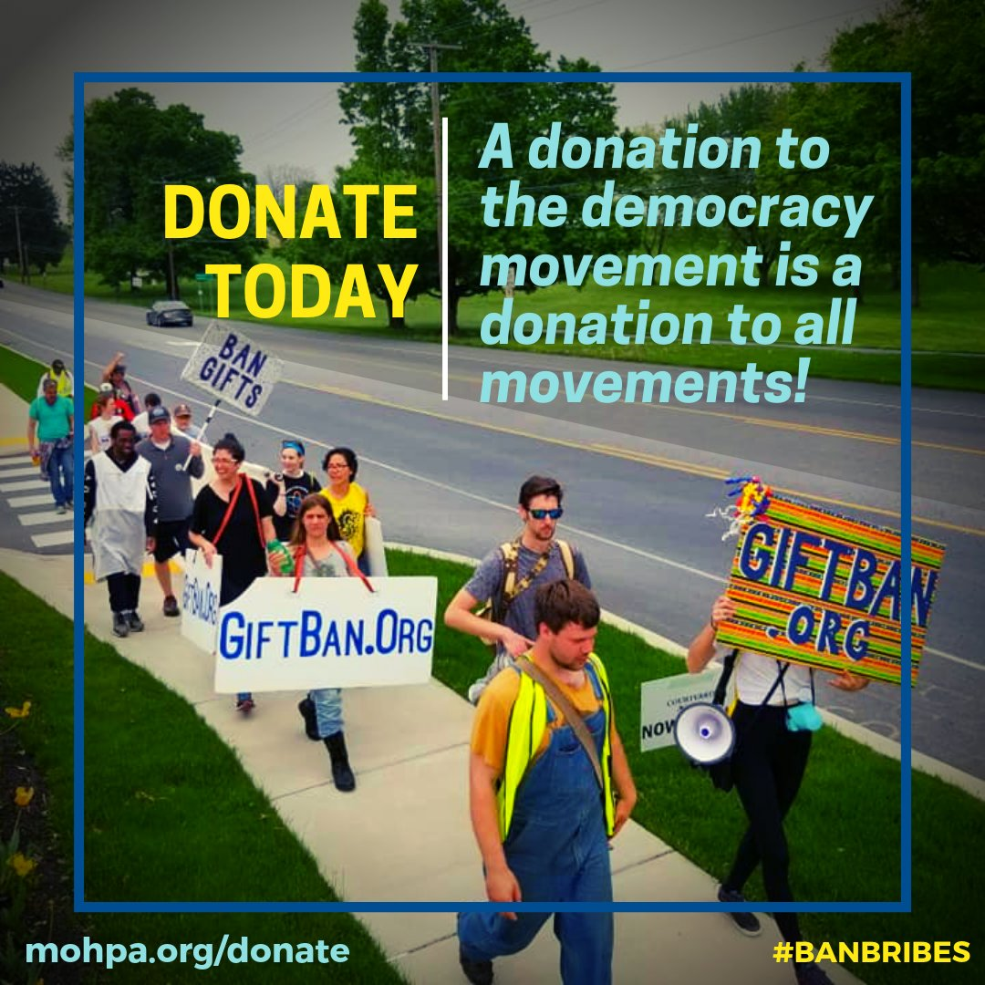 Can you make a donation to help support the democracy movement in PA? >>> bit.ly/donate2MoH