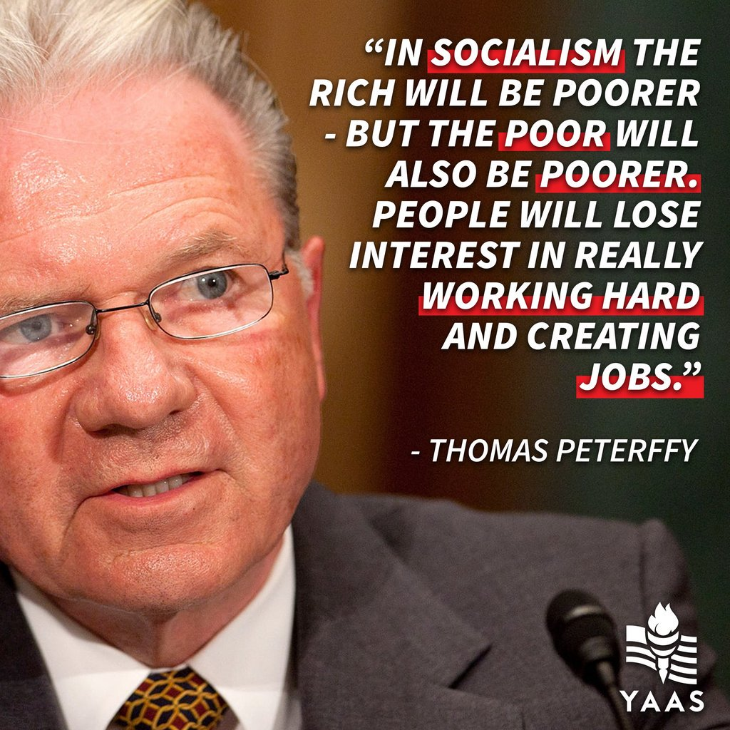 Socialism and innovation cannot co-exist.