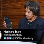 Image for the Tweet beginning: Criminals Use Medicare Scam to