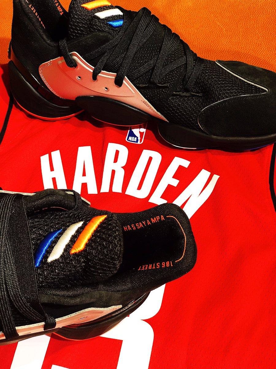 👀Saturday , October 12 adidas Harden Vol 4 shoe release @NBASTORE NYC!
