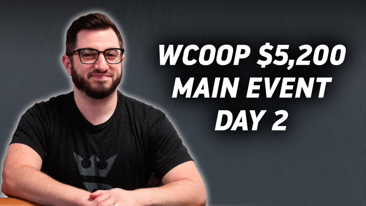 Phil continues his WCOOP Main Event grind and looks to build a stack at a tough table once.run/33jpwFC