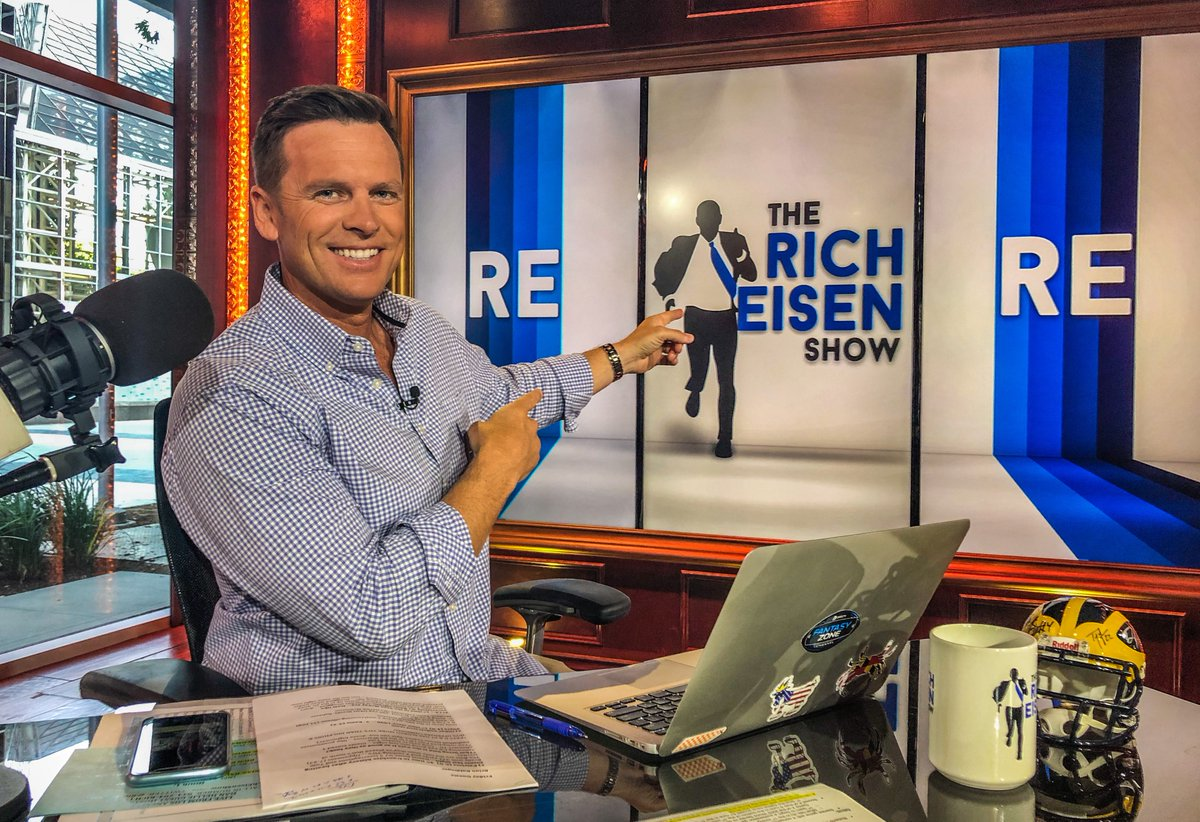 Todays Show w/ guest host @DanHellie: 12:20pmET - @BaldyNFL 1:20p - @NickSwisher 2:00p - @BruceFeldmanCFB plus, #GoPats win, #MLBPostseason, #SneakyGoodGames, huge #collegefootball weekend, your phone calls and more!