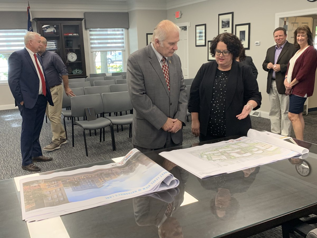 Yesterday I had the opportunity to meet with Montgomery community leaders. We discussed the Montgomery Quarter project, roundabout at Montgomery Road and Ronald Reagan Cross Country Highway. For anybody that's taken the roundabout, this is really good news.