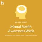 According to the 2018 Alabama Kids Count Data Book, although comprehensive data for child mental health in Alabama is limited, researchers estimate that nationally 1 in 7 children aged 2-8 years has a mental, behavioral, or developmental disorder. #MentalHealthAwarenessWeek