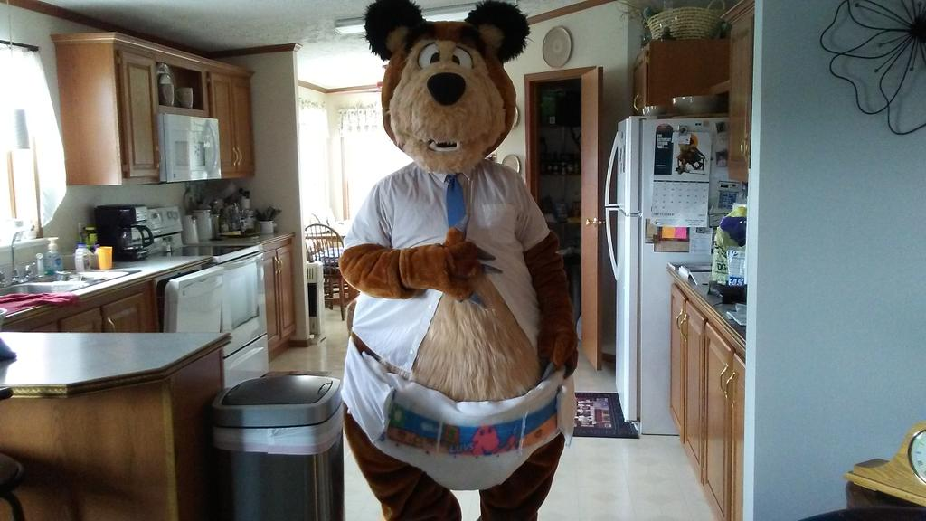 I agree diapers is a good subject to talk about especially diaper fursuiting. I don't think anyone would notice my diaper if I want to work like this ^W^ <br>http://pic.twitter.com/2qwlOVsgIW