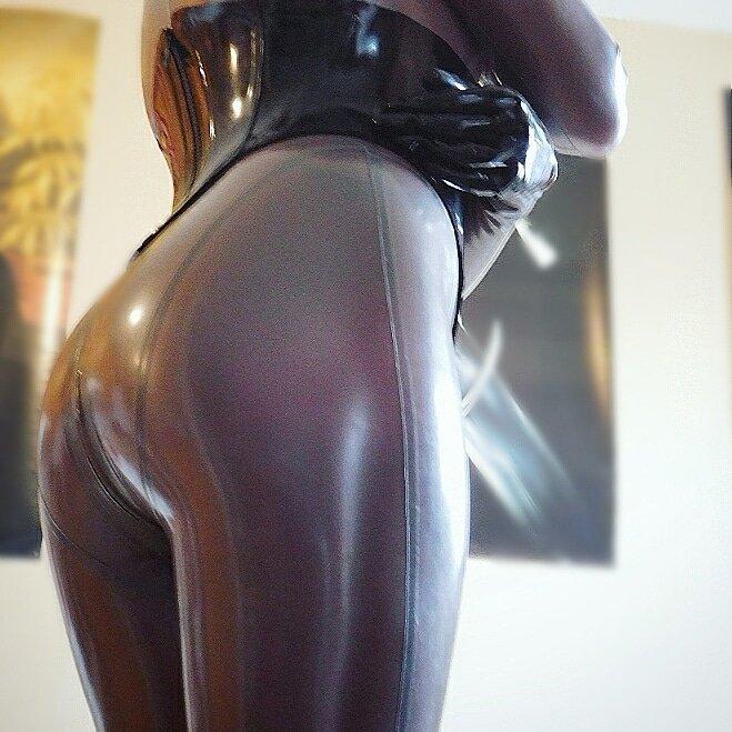 Smooth shiny ass