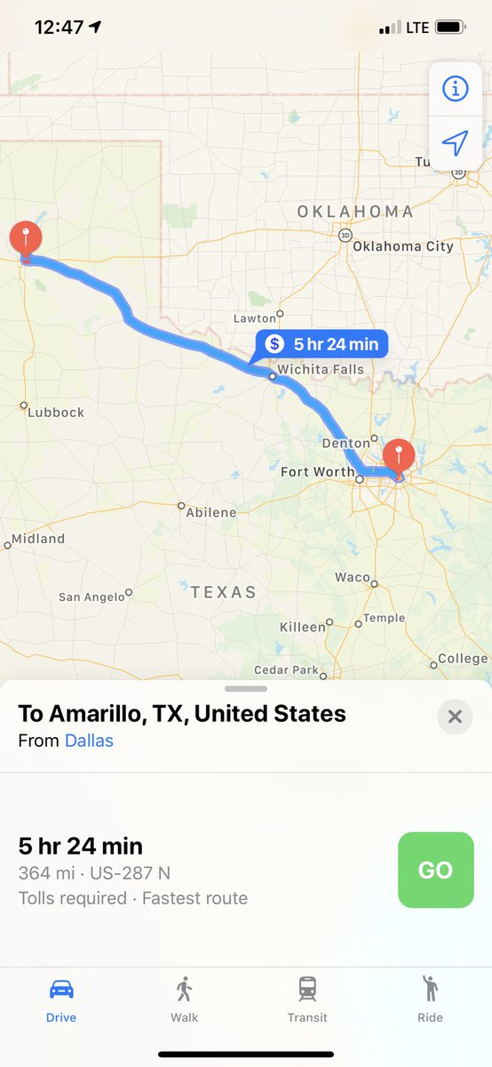 About to fly to Oklahoma City. Drive to Dallas tonight, then over to Amarillo in the am! Lawd.