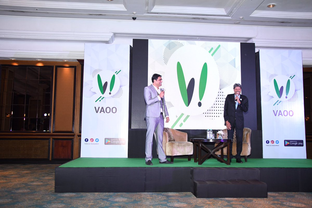Innovation blends with excitement as VAOO releases its app. Congrats to the entire VAOO family and best of luck for daring to change the future @vaooadtech