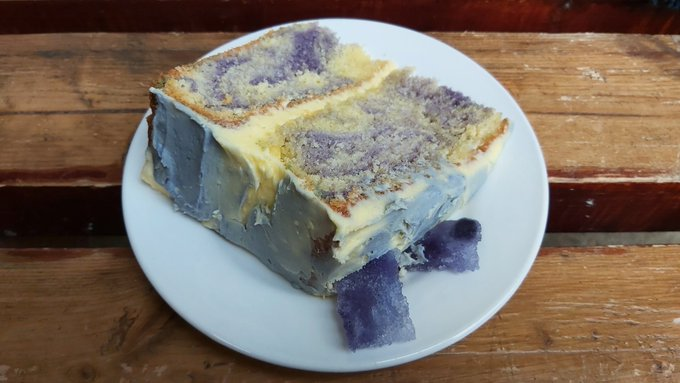 My birthday too - Happy Birthday! How\s this for - Blue John cake