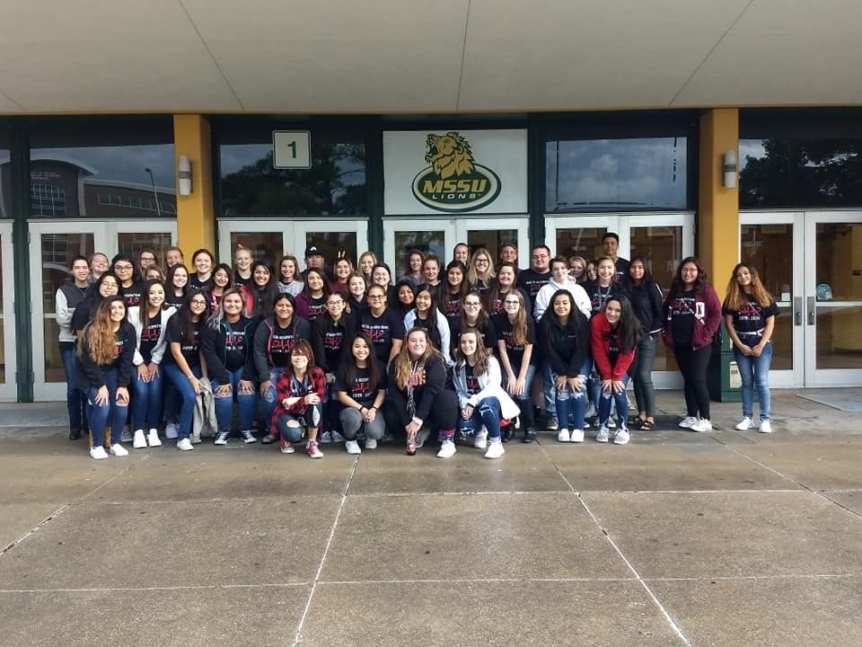 Health Occupations Program attended MSSU's Healthcare Career Expo and toured the Health/Science buildings yesterday! <br>http://pic.twitter.com/pQ9sIhdW5v