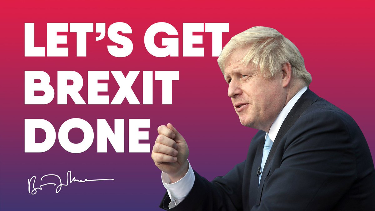 Let's #GetBrexitDone so we can unite the country and get Britain back on the road to a brighter future.