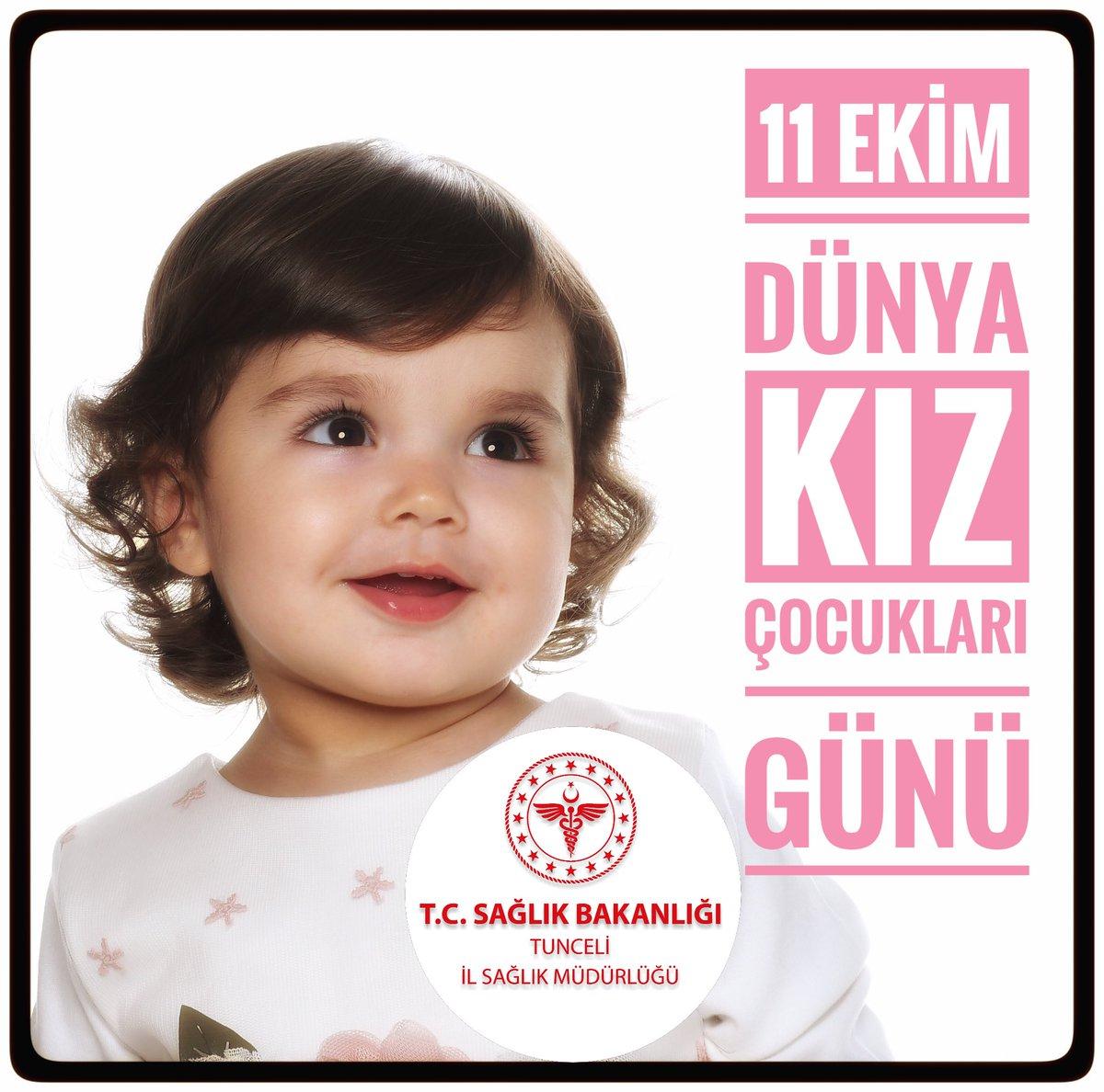 Bizim Tunceli'de 7.000'i aşkın Kız evladımız var. Hepsi Aile hekimlerimize kayıtlı ve hepsinin aşısı tam. Yarınlarımızın güvencesi, dünyanın en değerli varlıkları olan kız çocuklarımızın sağlıkla yaşadığı bir Dünya için çalışıyoruz;   #11Ekim   #DünyaKızÇocuklarıGünü   kutlu olsun.